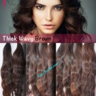 18 inch Vietnam Hair Extensions - Thick Wavy Single