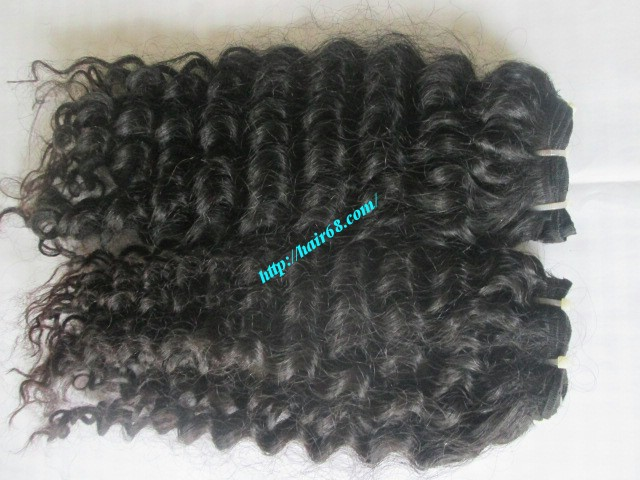 Vietnamese hair:Thick - Coarse-Curly