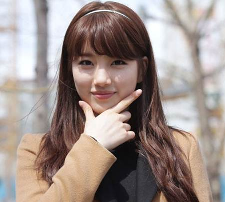 Hairstyles Beautiful Korean Bangs For Girls