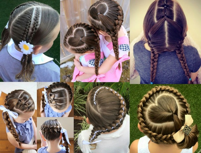 Beautiful braiding hairstyles for little girls – Mothers should not miss
