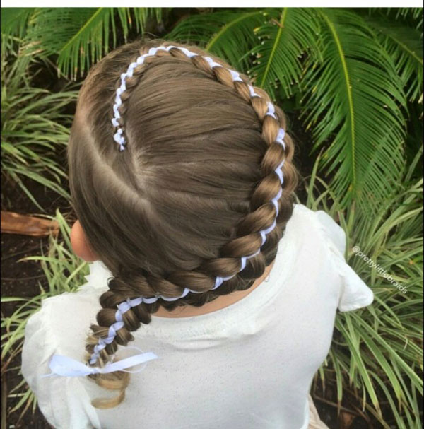 Beautiful braiding hairstyles for little girls Archives - Blog ...