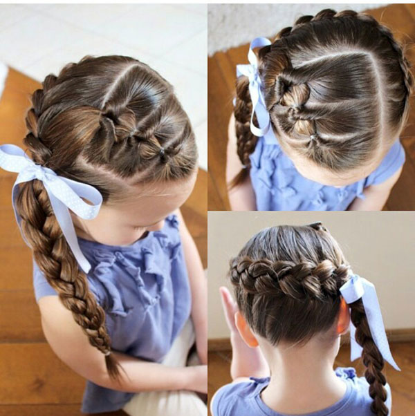 Miraculous Beautiful Braiding Hairstyles For Little Girls Archives Blog Hairstyles For Women Draintrainus