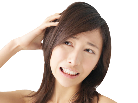itchy scalp and hair loss 2