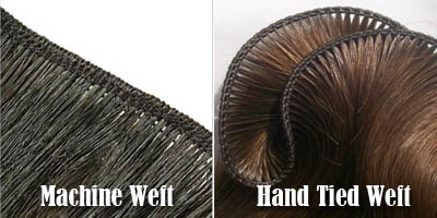 Should You Choose Machine Weft Hair Or Hand Tied Weft Hair?