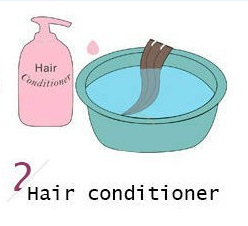 How to wash hair extension? 2