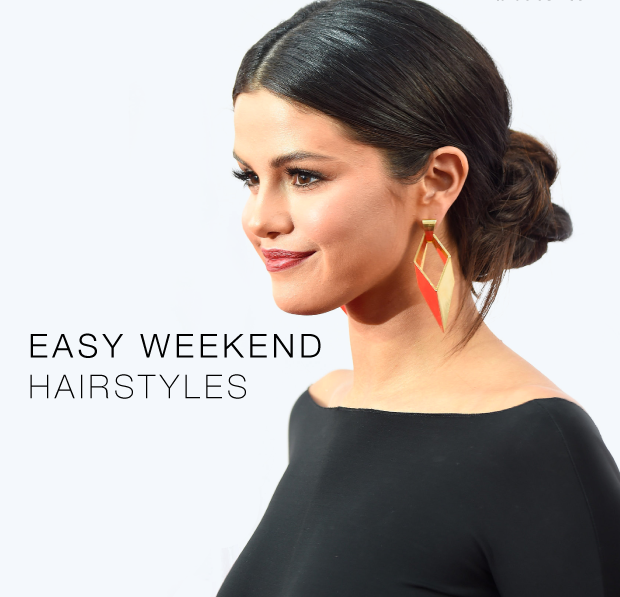 EASY WEEKEND HAIRSTYLES