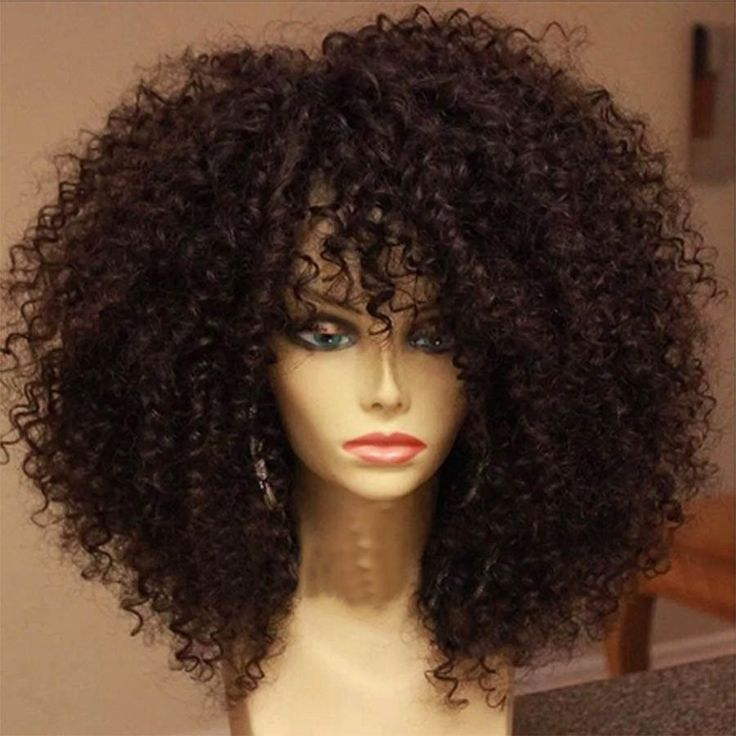 Natural Hair Black Wig
