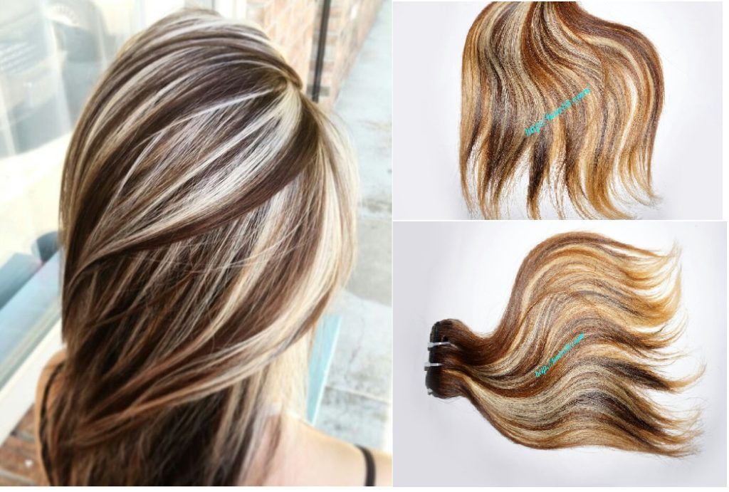 Vietnamese hair Ombre hair makes a difference