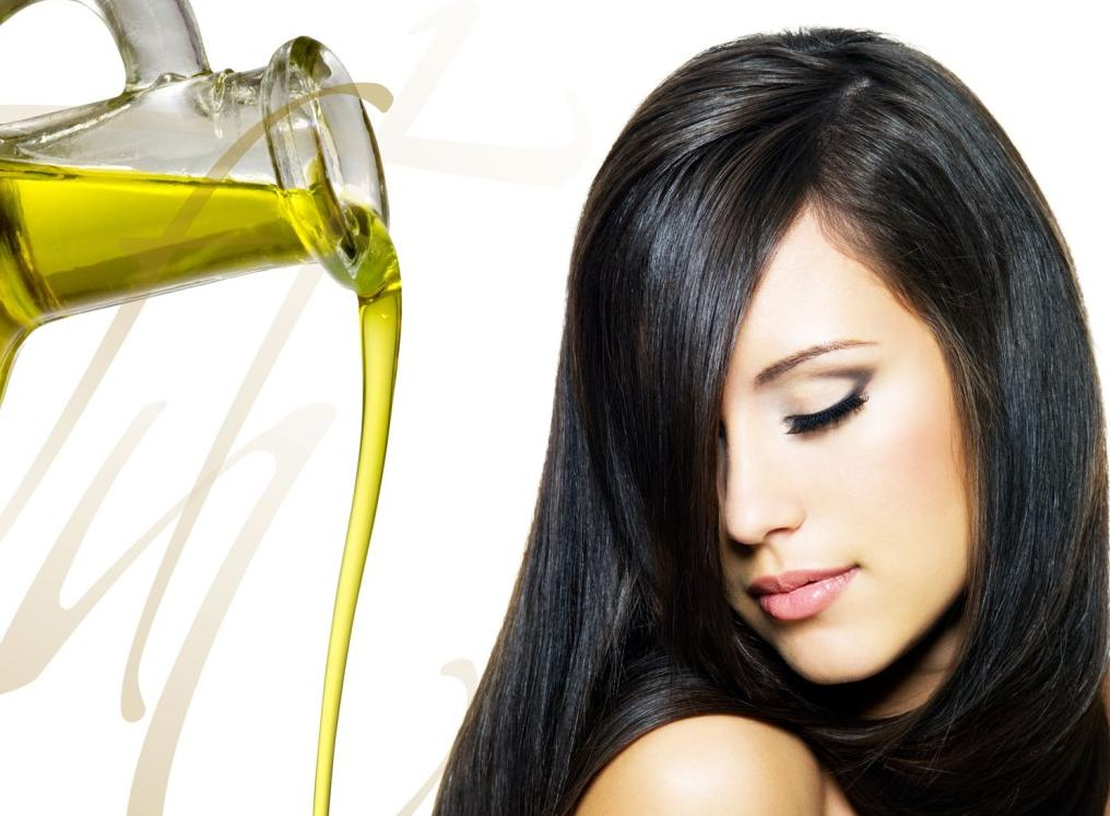 Use a bit of essential oil to style the hair