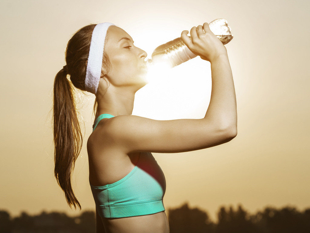 Drink plenty of water to make your hair healthier