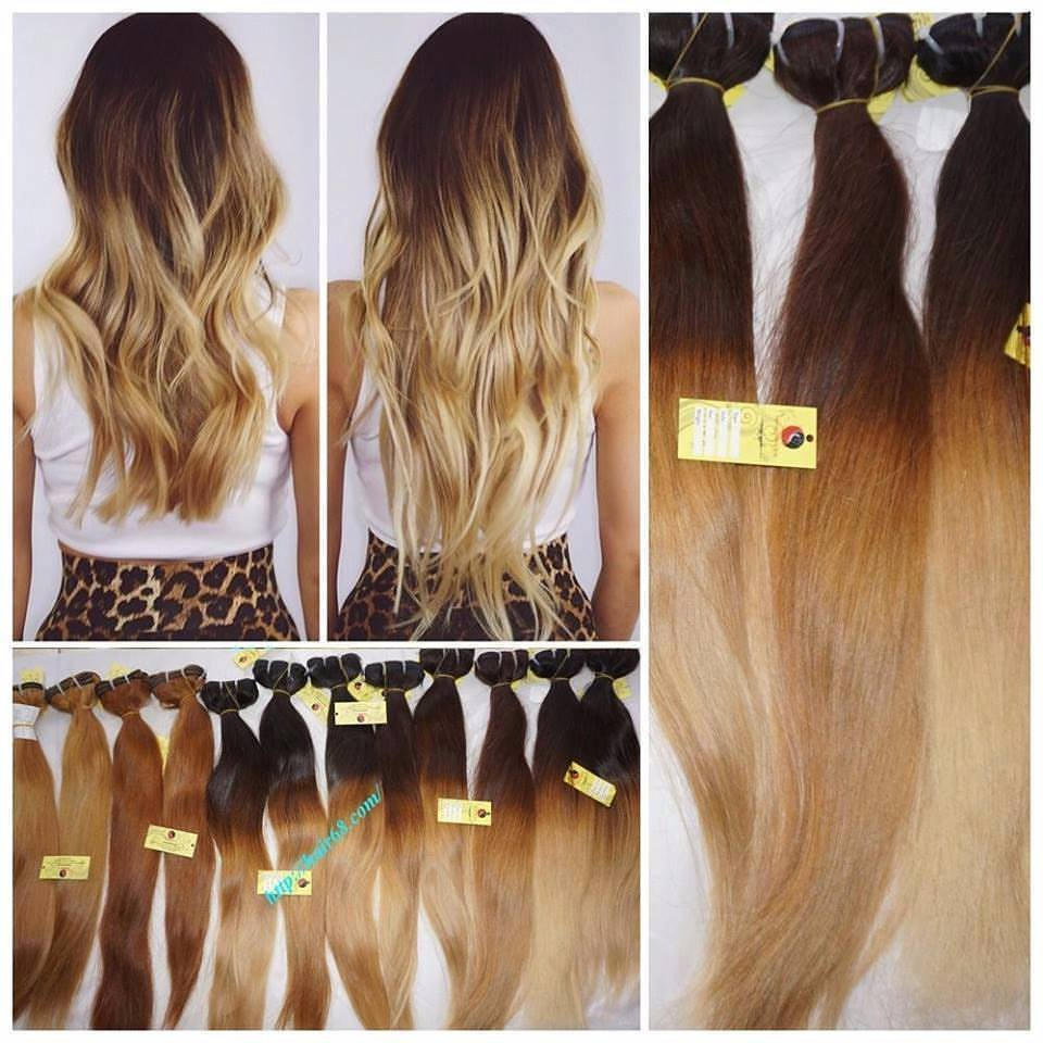 Ombre - The dye hair color suitable for Vietnamese hair