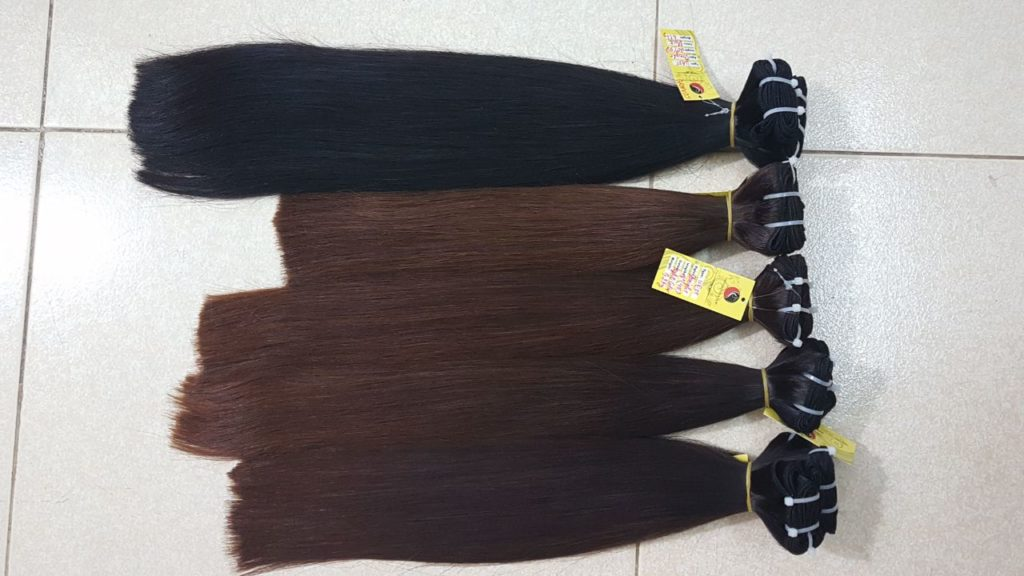 How Many Hairstyles Were Made From Virgin Human Hair?