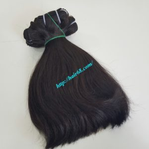 8 inch straight weave