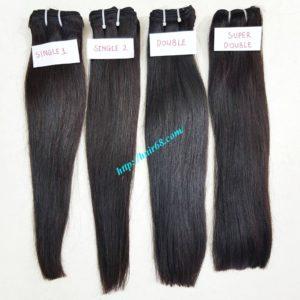 straight weave hair