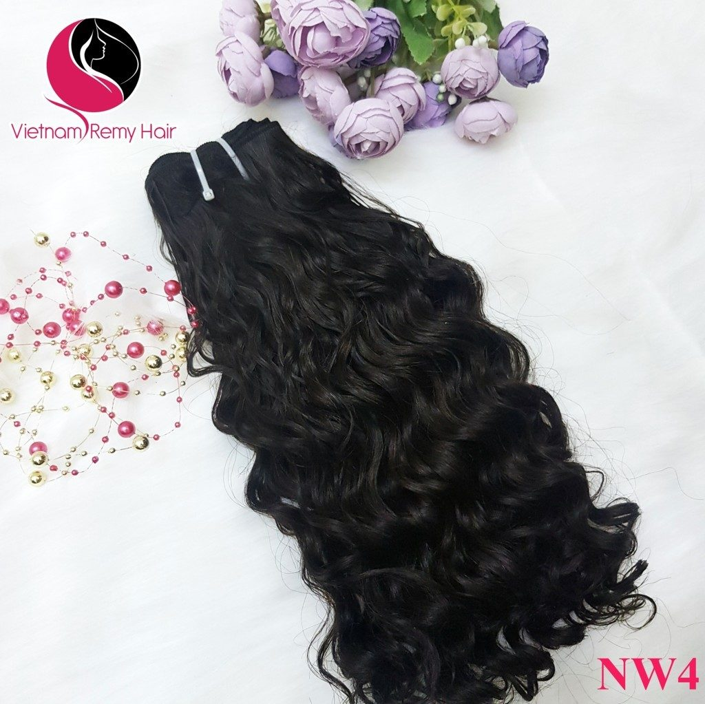 Difference between non- Remy hair and Remy wavy hair extensions