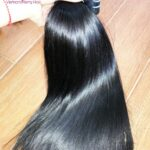 100% human hair straight weave: style hot on the hair extensions market