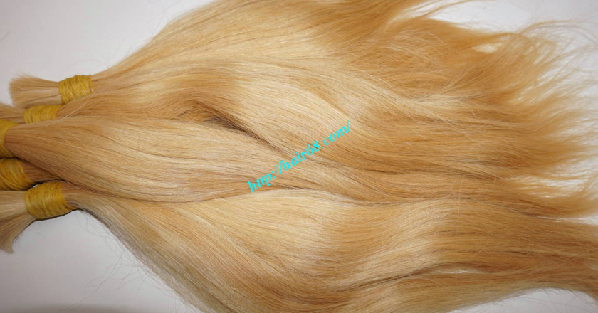 10 inch blonde hair straight single drawn 8