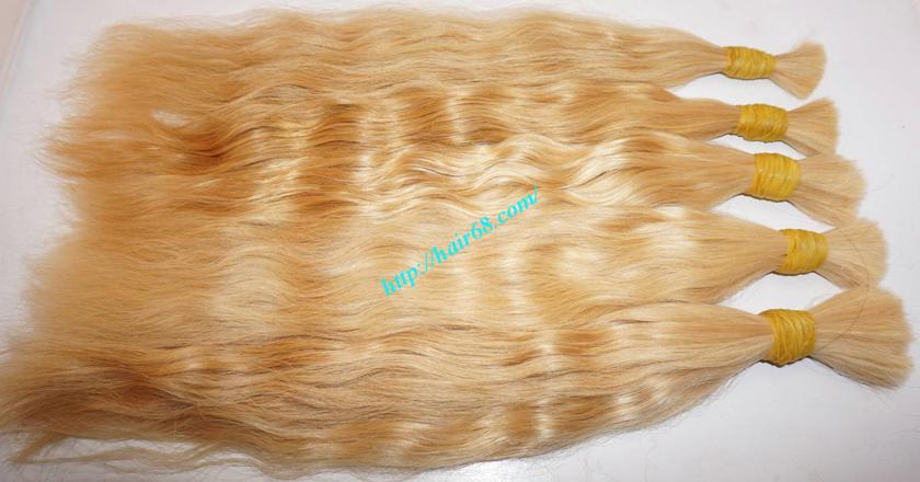 10 inch blonde hair wavy double drawn 4