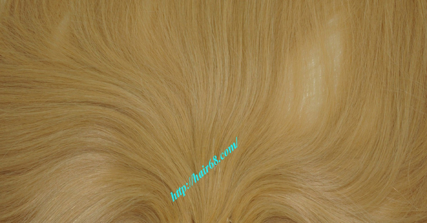 10 inch cheap blonde weave hair extensions 3