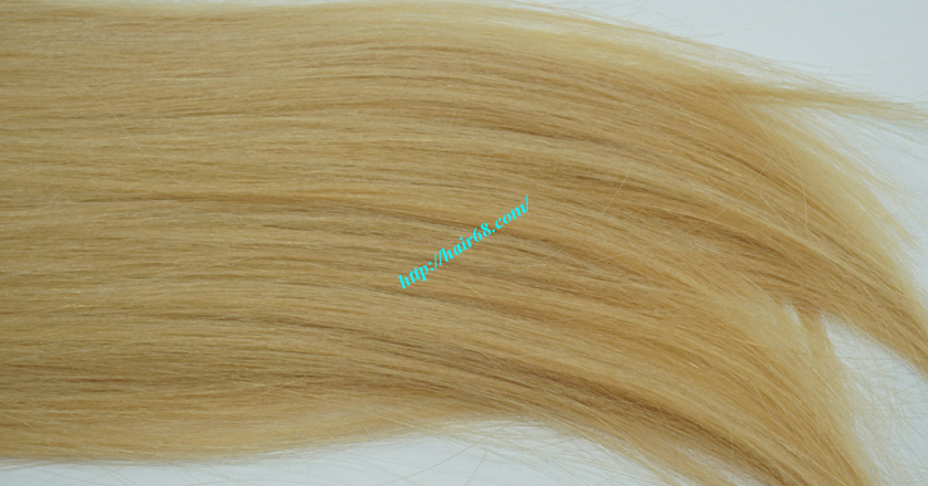10 inch cheap blonde weave hair extensions 4