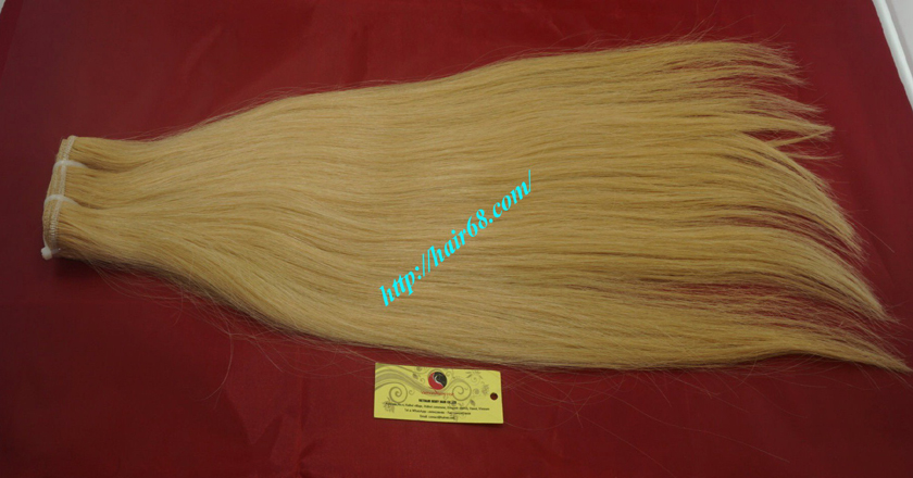 10 inch cheap blonde weave hair extensions 8