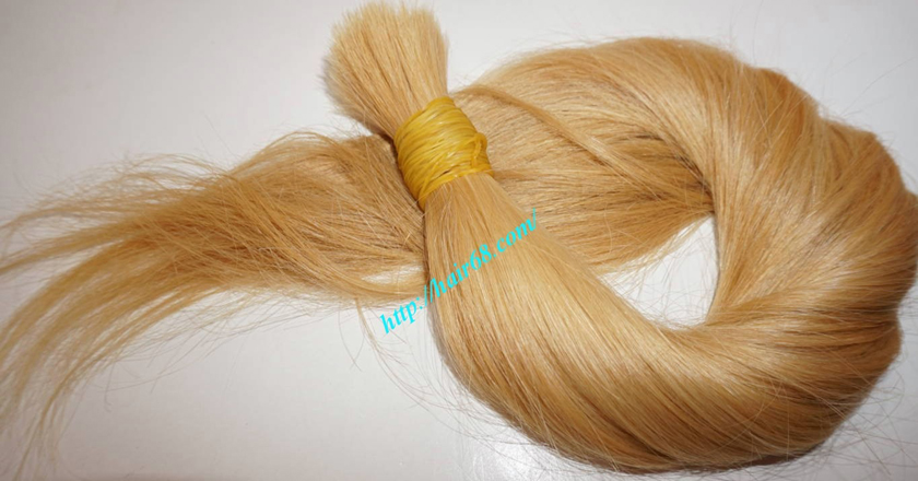 12 inch blonde hair straight single drawn 1