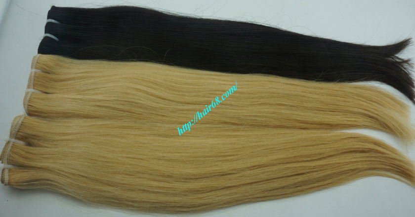 12 inch cheap blonde weave hair extensions 10