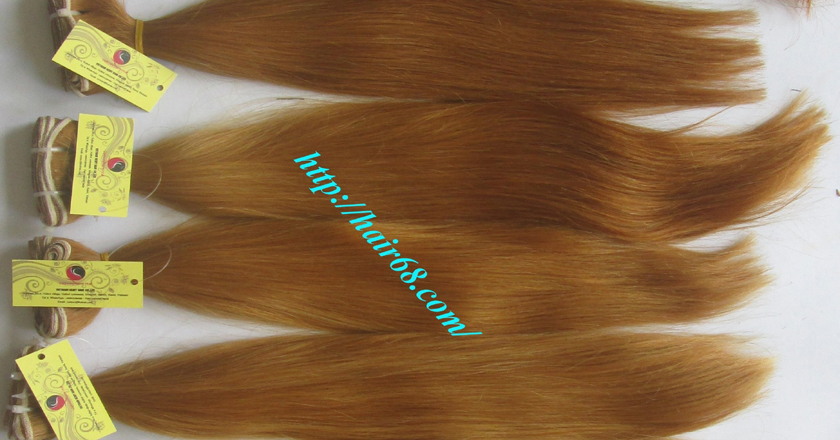 12 inch cheap blonde weave hair extensions 9