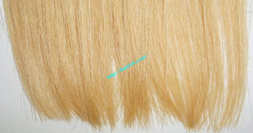 14 inch blonde weave hair straight remy hair 4