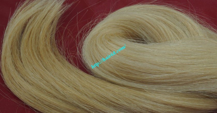14 inch blonde weave hair straight remy hair 5