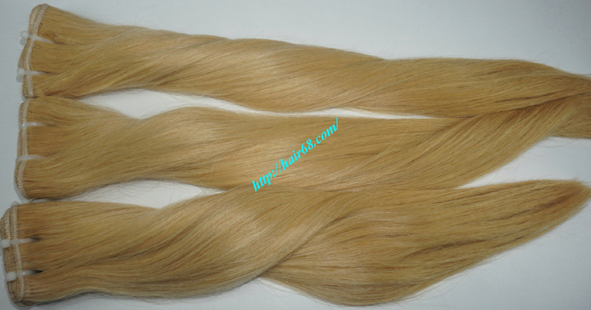 14 inch cheap blonde weave hair extensions 10