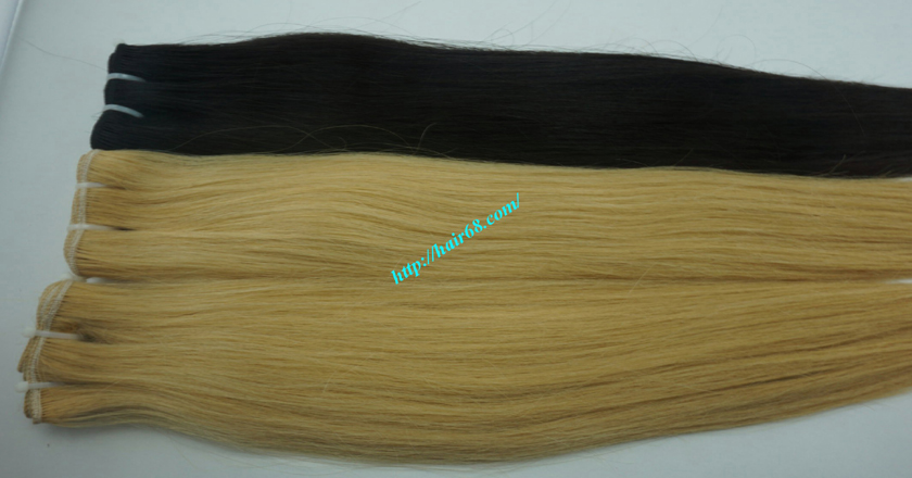 14 inch cheap blonde weave hair extensions 7