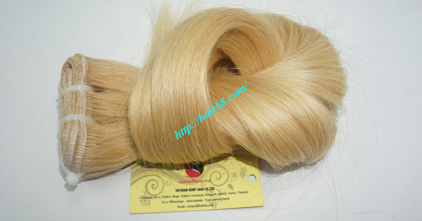 14 inch cheap blonde weave hair extensions 9
