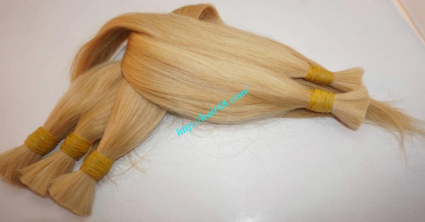 16 inch blonde hair straight single drawn 4