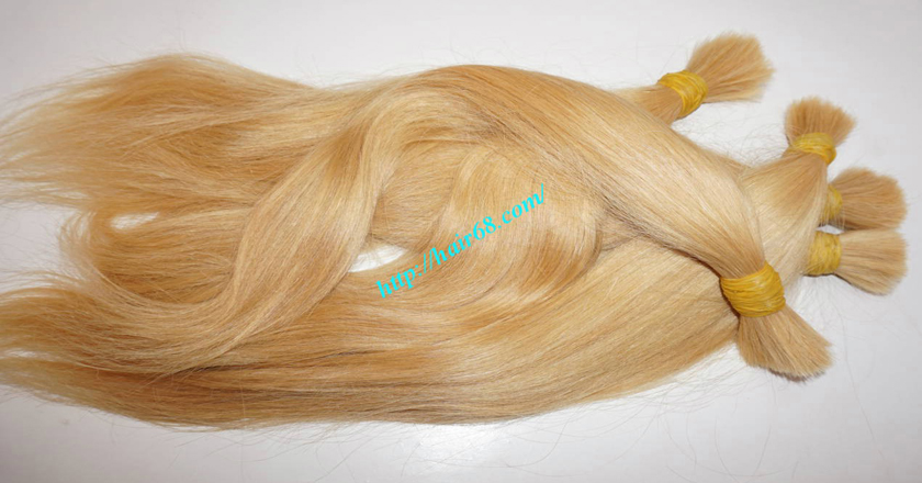 16 inch blonde hair straight single drawn 5