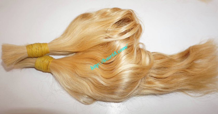 16 Inch Blonde Hair Extensions Vietnamese Hair