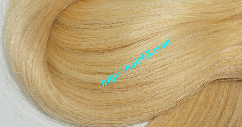 16 inch blonde weave hair straight remy hair 3