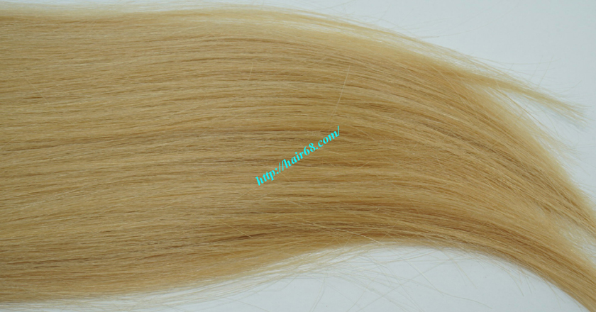 16 inch blonde weave hair straight remy hair 4