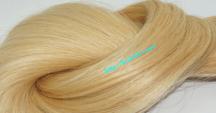16 inch blonde weave hair extensions 4