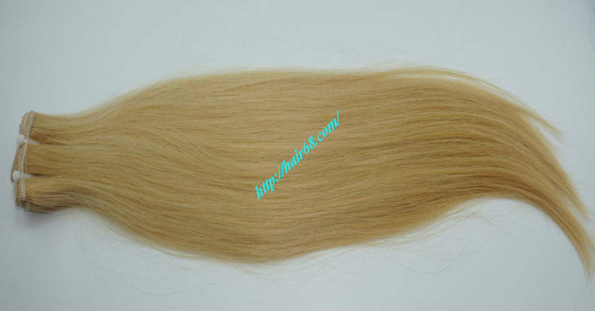 16 inch blonde weave hair extensions 6