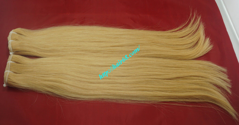 16 inch blonde weave hair extensions 7