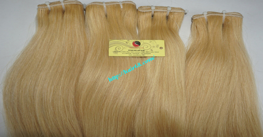 16 inch blonde weave hair extensions 8