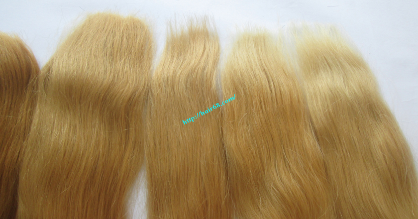 16 inch blonde weave hair extensions 9