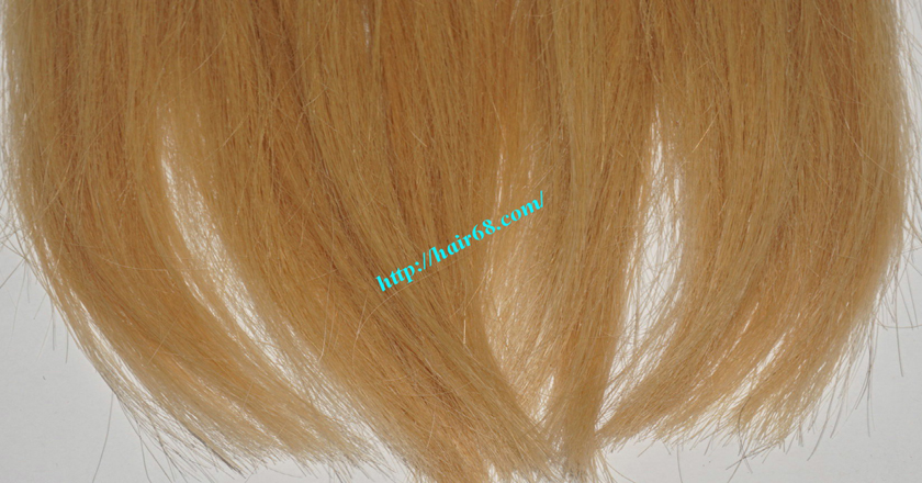 18 inch blonde weave hair straight remy hair 3