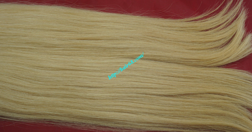 18 inch weave straight single blonde weave hair extensions 4