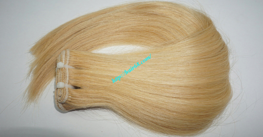 18 inch weave straight single blonde weave hair extensions 9