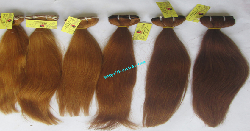20 inch blonde weave hair straight remy hair 10