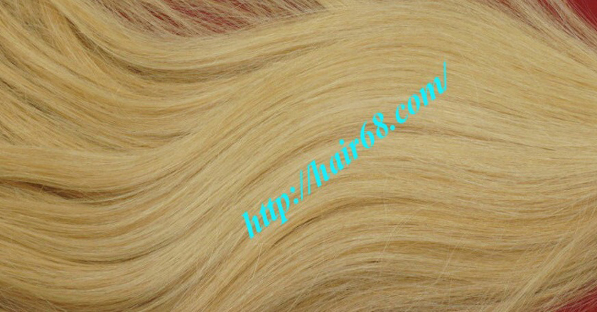 20 inch blonde weave hair straight remy hair 2