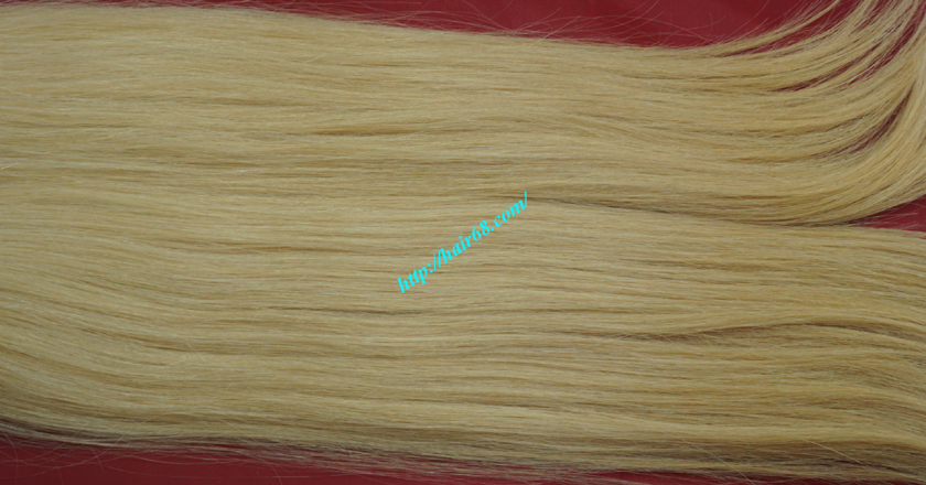 20 inch blonde weave hair straight remy hair 4