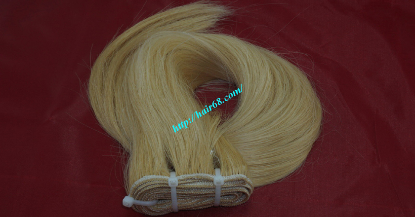 20 inch blonde weave hair straight remy hair 9